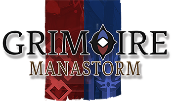 Grimoire: Manastorm – Multiplayer PC Wizard Shooter Logo