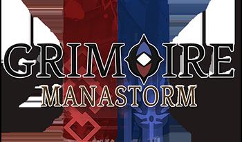 Grimoire: Manastorm – Multiplayer PC Wizard Shooter Logo